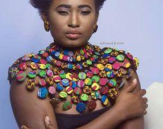 DZIGBORDI 2, African necklace, african jewelry,ankara necklace, jewelry,conversation piece, accessories, jewelry, african, necklace, buttons