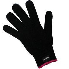 Heat Resistant Glove Professional Hair Styling Heat Blocking Kiloline New Black #Kiloline