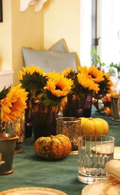 sunflowers for Thanksgiving