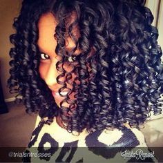 mahoganycurls flexi rod set How to use flexi rods on natural and relaxed hairstyles, tutorials for short and long hair, big curls http://www.shorthaircutsforblackwomen.com/flexi-rods-on-natural-hair/