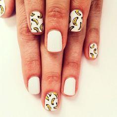 #BananaNails! Νύχια από το instagram με θέμα τις... μπανάνες