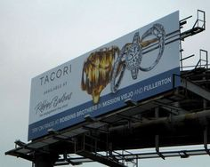 TACORI Engagement Rings for Robbins Brothers Engagement Ring Store - Orange County Billboard  by Robbins Brothers, via Flickr