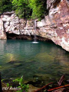Pirates Cove, Summersville Lake, WV