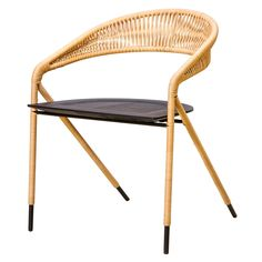 George's Chair Wicker & Lacquered Ash - Furniture & Lighting - The Conran Shop