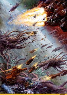 Flesh Tearers,Blood Angels,Space Marine,Adeptus Astartes,Imperium,Империум,Warhammer 40000,warhammer40000, warhammer40k, warhammer 40k, ваха, сорокотысячник,Wh Песочница,фэндомы,Thunderhawk,Tyranids,Тираниды,hi-res