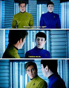 Star Trek Beyond   Kirk & Spock