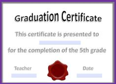Free Certificate Templates For Word Free Downloadable Pdf Certificates & Awards  Teachnet  Fifth .