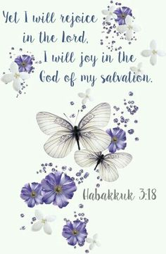 Habakkuk 3:18 KJV Bible verse. Yet I will rejoice in the Lord. I will joy in the God of my salvation.