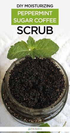 Benefits of DIY Moisturizing Peppermint Sugar Coffee Scrub Coconut oil to it which is why it has become moisturizing in nature and thus a perfect scrub for winters Coffee. Coconut Oil Body Scrub, Coconut Oil For Skin, Organic Coconut Oil, Coffee Cellulite Scrub, Coffee Face Scrub, Body Scrub Recipe, Sugar Scrub Recipe, Diy Peeling, Coconut Oil Coffee