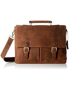 Visconti Berlin Leather Twin Buckle Briefcase with Detachable Strap, Tan Best Handbags, Fashion Handbags, Briefcases, Leather Briefcase, Travel Luggage, Messenger Bag, Berlin, Twins, Satchel