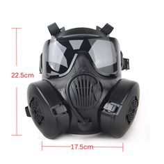 Safety & Survival Back To Search Resultssports & Entertainment Trustful M50 Mask Army Airsoft Tactical Wargame Paintball Full Face Skull Gas Mask With Fan With Goggles Protective 22.5*17.5cm Wholesale
