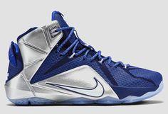 "Nike LeBron 12 ""Deep Royal Blue & Metallic Silver"""