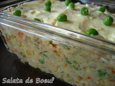 Romanian Potato Salad (Salata de Boeuf)
