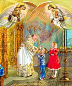 Natalya Klimova – Page 4 – Art in Faith Russian Painting, Russian Art, Christian Artwork, Orthodox Christianity, Catholic Art, Orthodox Icons, Faith In God, Religion, Byzantine