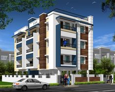Pleasant Modern Apartment Building Elevations On Home Design Ideas Elevation Exterior