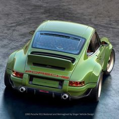 1990 Singer Porsche 964 DLS is the Steve Austin of Porsches Singer Porsche, Porsche 964, Porsche Carrera, Carros Porsche, Singer 911, Porsche Autos, Porsche Cars, Porsche Classic, Classic Cars