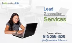 Rainmakerdots offer cost-effective #leadgeneration service in #kansas city. Get a free consultation now!