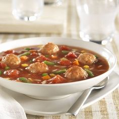Dad's Meatball Soup