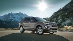 The 2016 Ford Explorer is available in 4 variants; Base, XLT, Limited, and Sport and an all-new Platinum version.