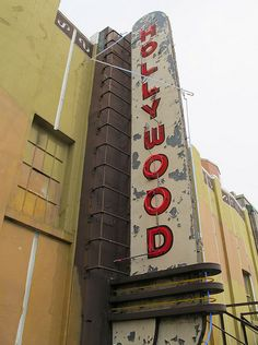 Hollywood Theatre (1935) Neon sign | by Heritage Vancouver