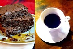 Espresso brownie with a strong shot of espresso!.....this would make the best afternoon pick-me-up