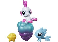 MY LITTLE PONY Baby Seapony & Baby Hippogriff, Sea Poppy | Legetøj fra BR