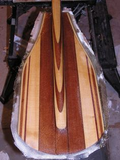 The Might Mac custom made ergonomically designed canoe paddle line uses the proven efficiency of the 12 degree bend. Wooden Canoe, Wooden Surfboard, Wooden Paddle, Canoe Boat, Paddle Boat, Rowing Shell, Standup Paddle Board, Wood Boats, Planks