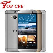 "Original Desbloqueado HTC UNO M8 M8 Quad Core Android RAM 2 GB + ROM 16 GB/32 GB 5.0 ""Bluetooth WIFI GPS reformado Teléfono Celular Móvil"