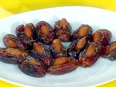 Smoked Almond Stuffed Dates Recipe : Rachael Ray : Food Network - FoodNetwork.com