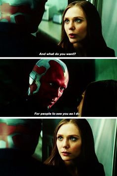 Vision and Wanda                                                                             Pinterest: @meghnaprasad4