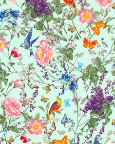 At the Conservatory - Spring Delights - Quilt Fabrics from www.eQuilter.com