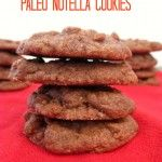 4 Ingredient Paleo Nutella Cookies