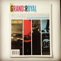 Beastie Boys Grand Royal Magazine Issue #6. Long out of print magazine from the Beastie Boys camp. #classicmagazine