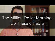 Million Dollar Morning: 6 Daily Habits (Do Them!)   Full video: https://youtu.be/K-ufuXfRXks