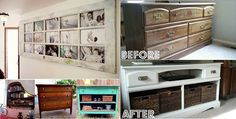 12 Ideas To Repurpose Old Furniture - LightHouseShoppe.com