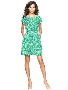 Printed flare dress | Gap
