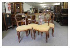 Sedie antiche ~ N poltrone luigi filippo epoca fine raro trittico sedie