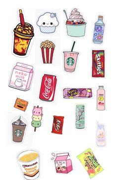 Preppy Stickers, Cute Laptop Stickers, Phone Stickers, Kawaii Stickers, Journal Stickers, Cool Stickers, Planner Stickers, Printable Scrapbook Paper, Scrapbook Stickers