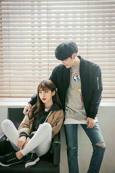 ulzzang couple ❤ couple goals, cute, korean boy and girl, kfashion, street style Couple Ulzzang, Ulzzang Girl, Cute Korean, Korean Girl, Korean Ulzzang, Korean Couple, Fashion Couple, Boy Fashion, Street Fashion