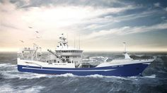 Salt Ship Design expands their portfolio with a purse seiner/trawler design for the North-Irish company Voyager Fishing Company. Delivery is set to 2017. Photo: Salt Ship Design