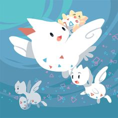Togepi, Togetic and Togekiss