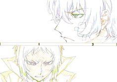 Sketch of Dazai Osamu and Akutagawa Ryunosuke Manga Anime, Anime Art, Key Drawings, Sketches Tutorial, Dazai Osamu, Bongou Stray Dogs, Hot Anime Boy, Anime Animals, Anime Sketch