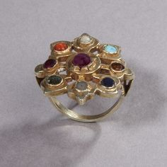 A Navaratna Ring India 19/20 th Century