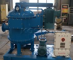 When solids control system is about taken into running,it is necessary to install a vacuum degasser for their removal from the drilling fluids since the invading gases may impact mud properties, cause safety risks and affect the lifespan of some equipment. http://www.xakx.com/portfolio/vacuum-degasser/
