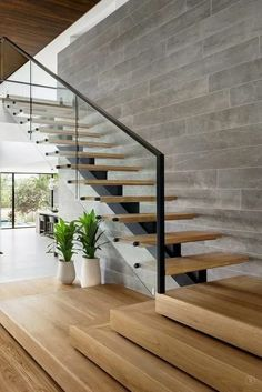 Below are the Glass Staircase Design Ideas. This article about Glass Staircase Design Ideas was posted under the category by our team at March 2019 at pm. Hope you enjoy it and don't forget to share this post. Glass Stairs Design, Home Stairs Design, Modern House Design, Home Interior Design, Glass Stair Railing, Stair Design, Wood Stairs, Staircase Design Modern, Interior Modern