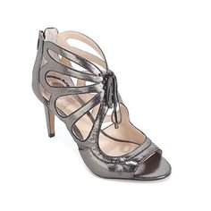 c26c79962b Vince Camuto Calivia Lace-Up Leather Open-Toe Pump Little Girl Shoes