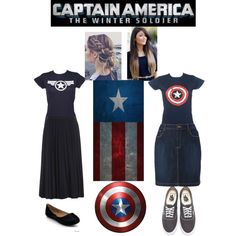 Captain America ◆ Apostolic Pentecostal Fashion ◆