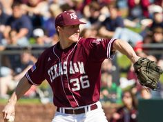 No. 9 Aggies Down No. 20 Texas 12-4  Senior All-American Ross Stripling tossed eight strong innings and was backed by a 14-hit attack as No. 9 Texas A cruised to a 12-4 victory over No. 20 Texas Saturday afternoon at UFCU Disch-Falk Field.
