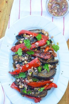 This Eggplant & Shiitakes with Soy recipe from Camille Styles is all about the sesame and soy dressing. Plus, it's gluten free!