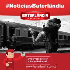 Hoje é dia do abraço. Já pode comemorar!? #Baterlândia #Energia